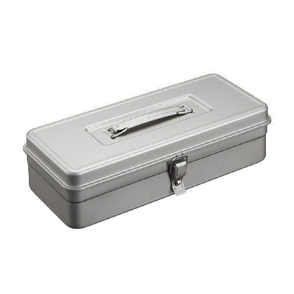 TOYO T-350SV 提把方型工具箱 銀 零件箱 日本製 日本製  鐵箱【露戰隊】