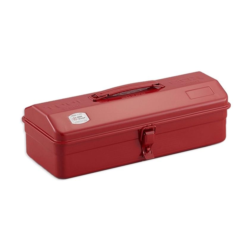 TOYO Y-350R  提把山型工具箱 36CM 紅  零件箱 日本製 日本製  鐵箱【露戰隊】