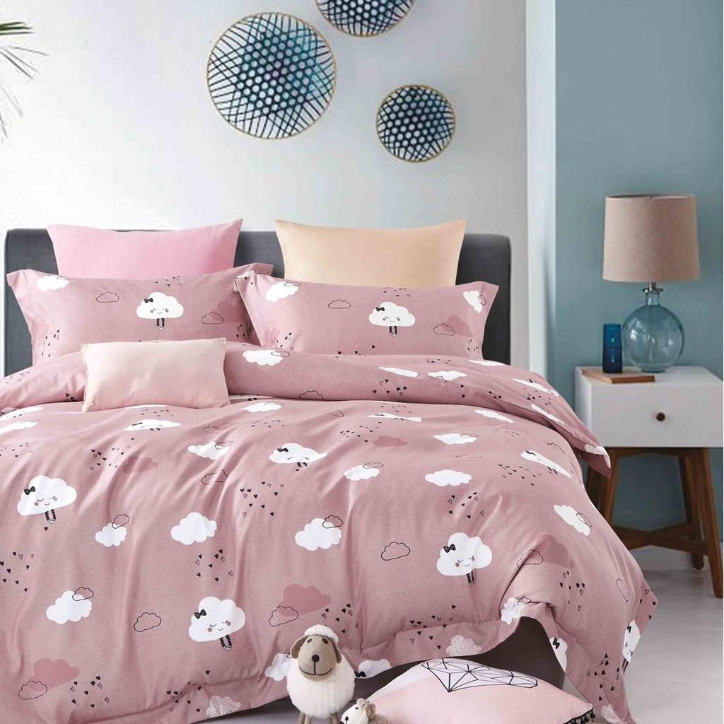 Camperson 充氣床床包-粉紅朵朵XL號 台灣製 吸濕排汗床包【露戰隊】
