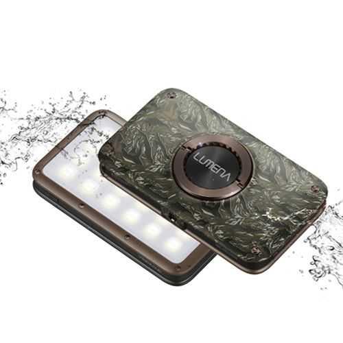 N9-LUMENA2 防水行動電源照明LED燈-綠迷彩【露戰隊】