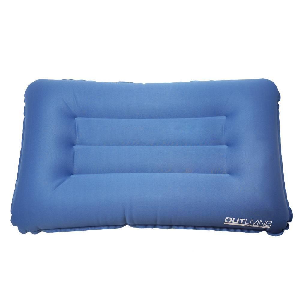 OUTLIVING方型速充枕 露營枕 充氣枕 野營 爬山 【露戰隊】