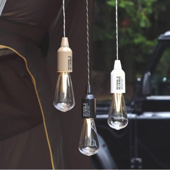 POST GENERAL 便攜型戶外露營LED掛燈- 橄欖綠【露戰隊】
