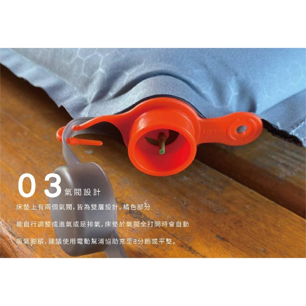 北緯23度 TPU輕便型單人氣墊床【露戰隊】