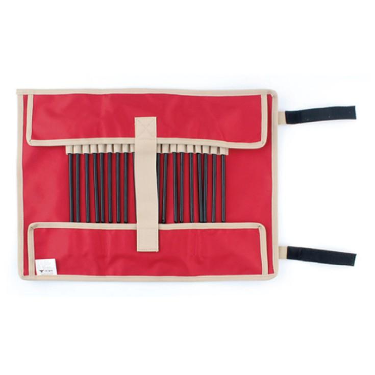 手提營釘槌收納包《小》卡其色、紅色【露戰隊】 卡其色