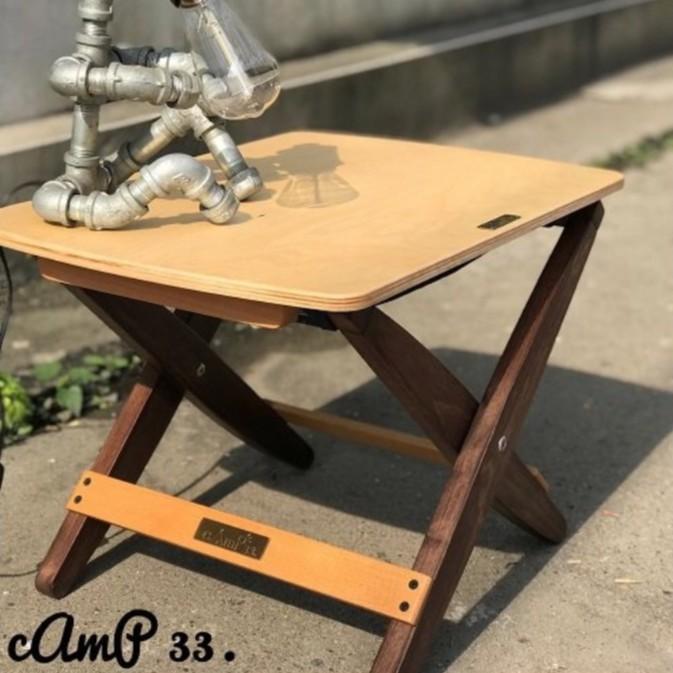 cAmP 33 折疊椅桌板 椅子 桌子 多用途 桌椅 木椅 木桌 野餐椅 便攜椅 [露戰隊]