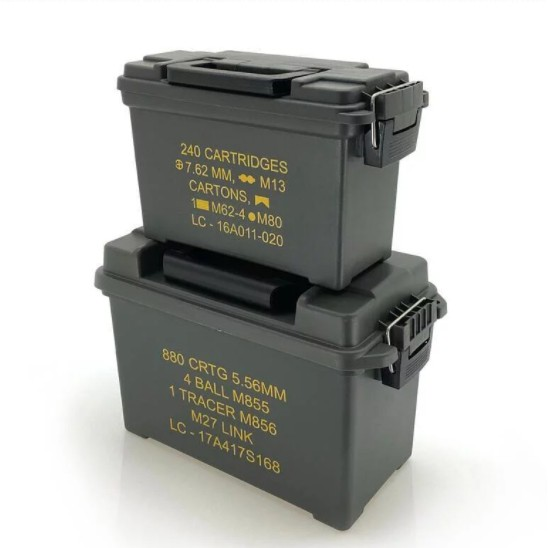 Camping Bar 輕量民用版彈藥箱 三色可選(買大送小限時優惠)收納箱 裝備箱【露戰隊】 軍綠色