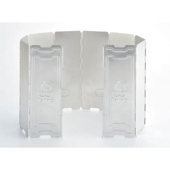 【露戰隊】文樑 鋁製10片擋風板 適用卡式爐 高山爐 蜘蛛爐 單口爐 WL09703