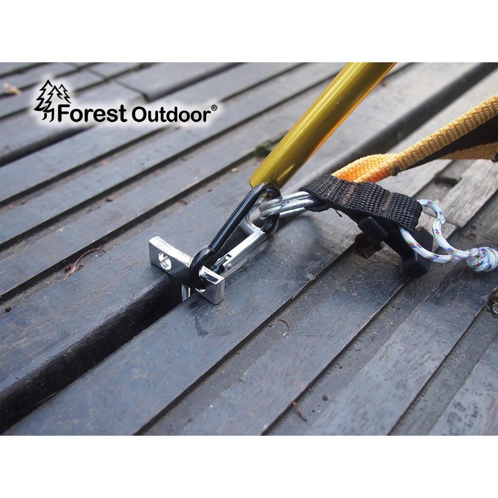 Forest Outdoor 真棧板神器 螺絲棧板魚骨釘 棧板神器 魚骨釘 帳篷 露營 野營 【露戰隊】