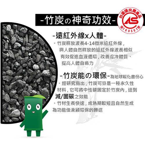 【皇家竹炭】竹炭眼罩 - 改善睡眠品質/降低疲勞感