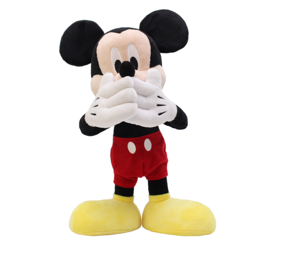 迪士尼 18cm站姿標準版驚訝米奇