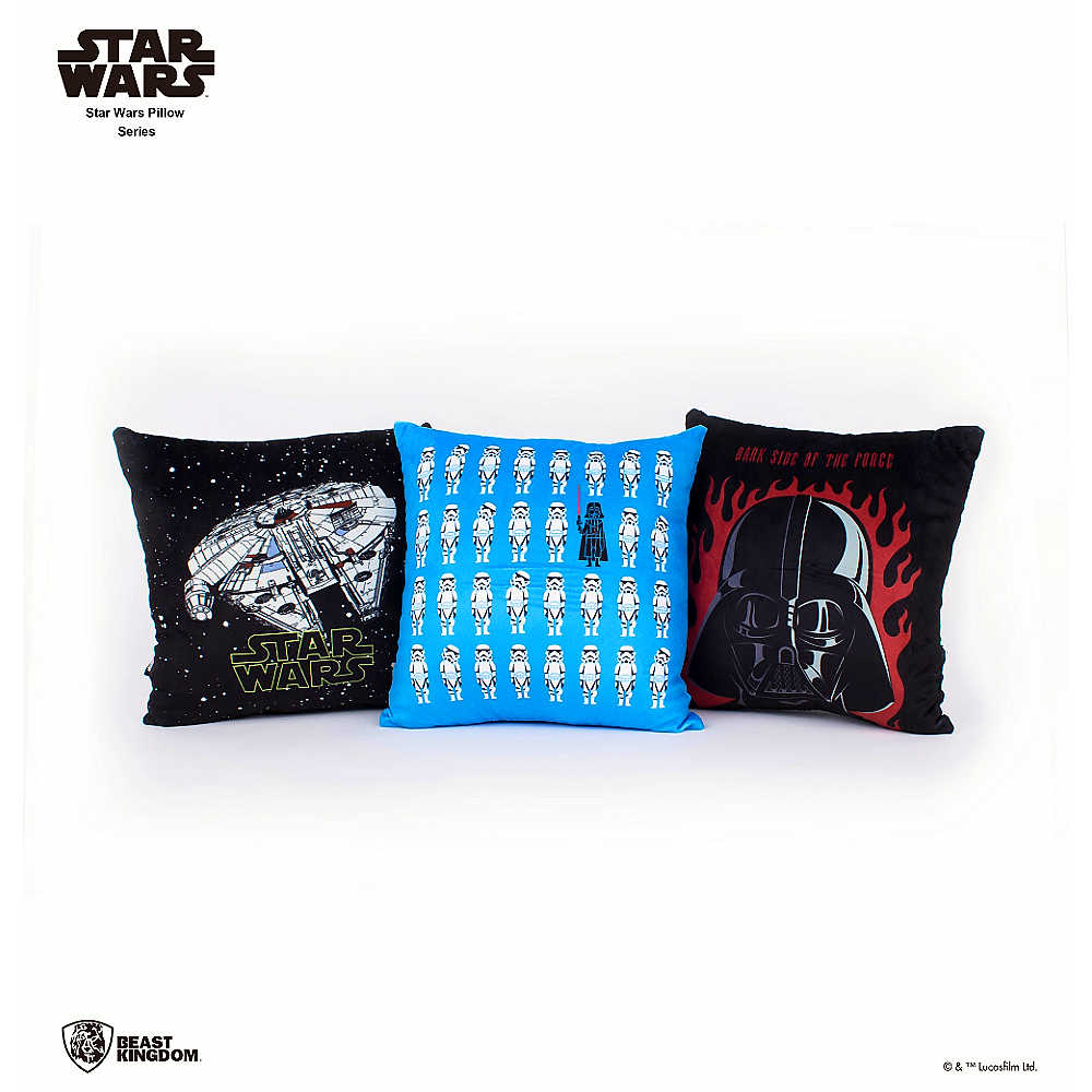 Star Wars 星際大戰 帝國風暴兵 & 黑武士 方形抱枕