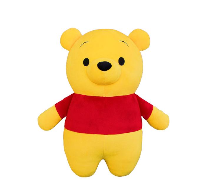 迪士尼 小熊維尼30cm麻糬立體鼻維尼