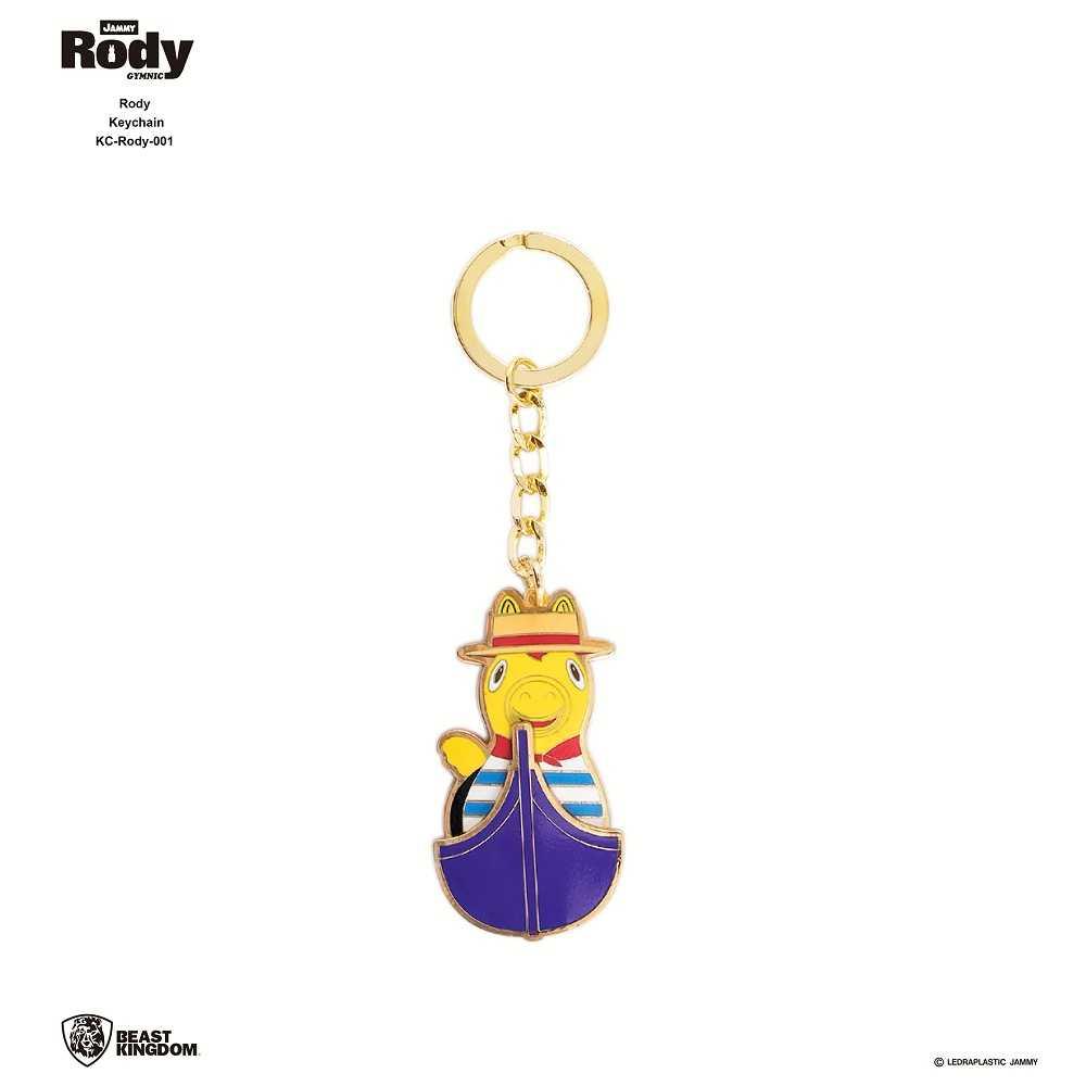 Rody-001 跳跳馬 鑰匙圈 01 划船款