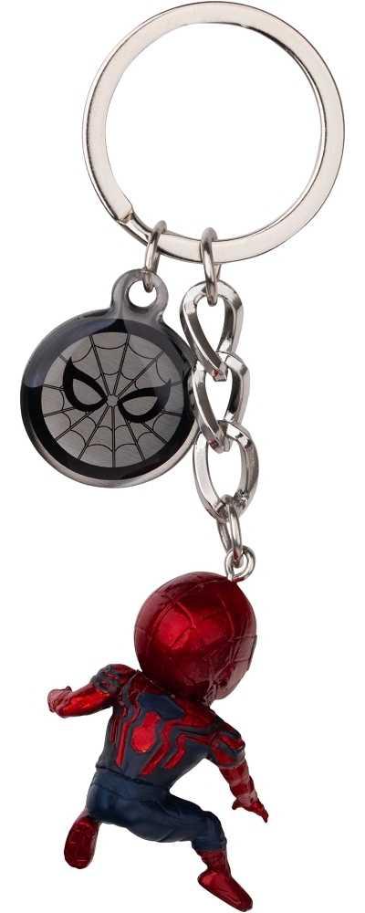 復仇者聯盟:終局之戰 蛋擊公仔鑰匙圈系列-鋼鐵蜘蛛人