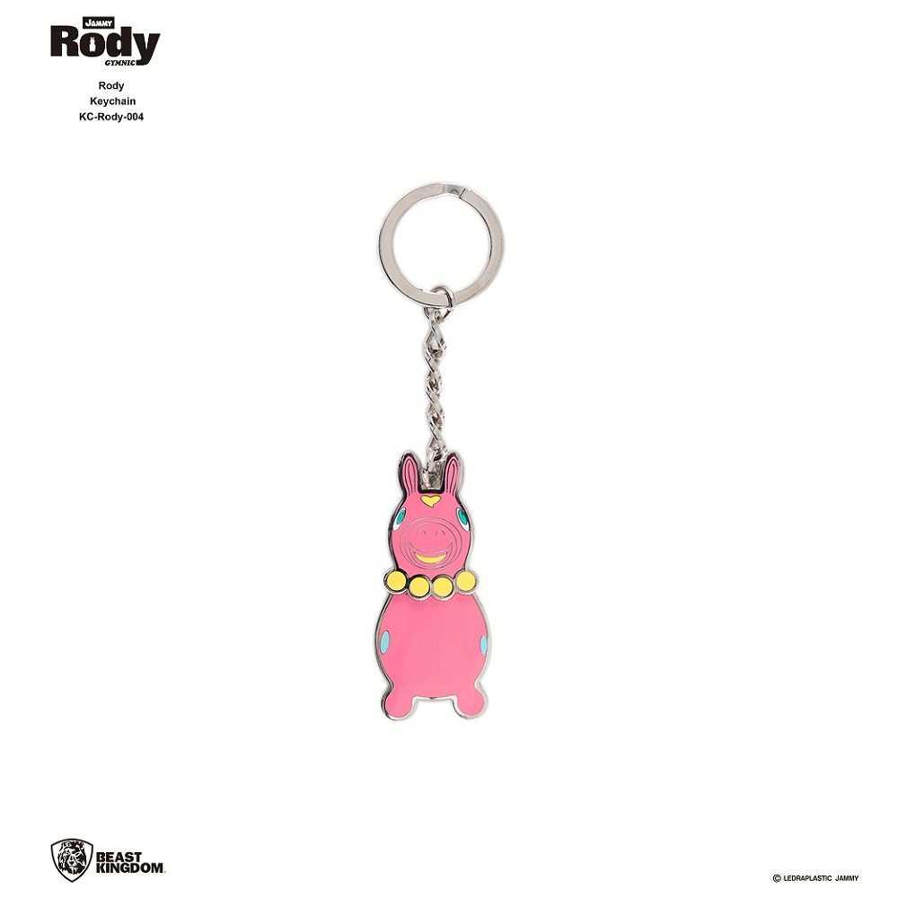 Rody-004 跳跳馬 鑰匙圈 04 粉紅款