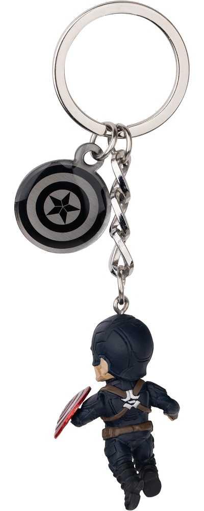 復仇者聯盟:終局之戰 蛋擊公仔鑰匙圈系列-美國隊長