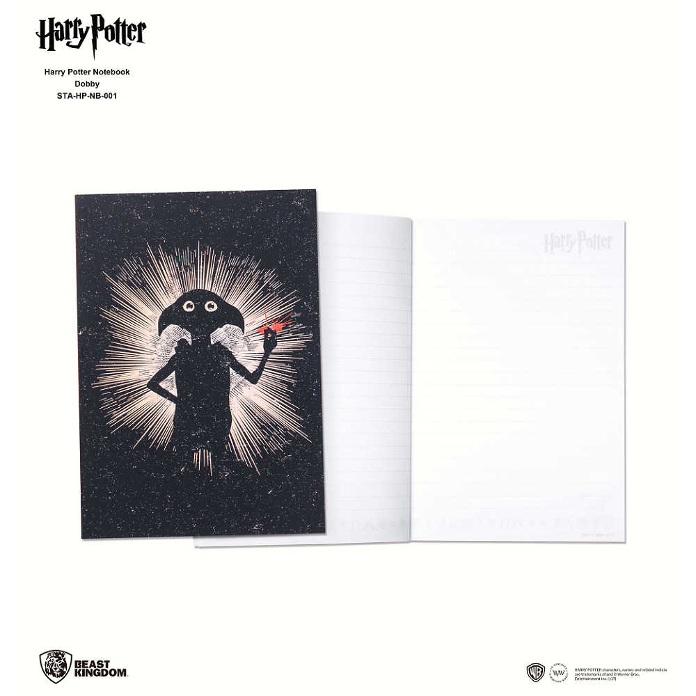 哈利波特 筆記本-多比款