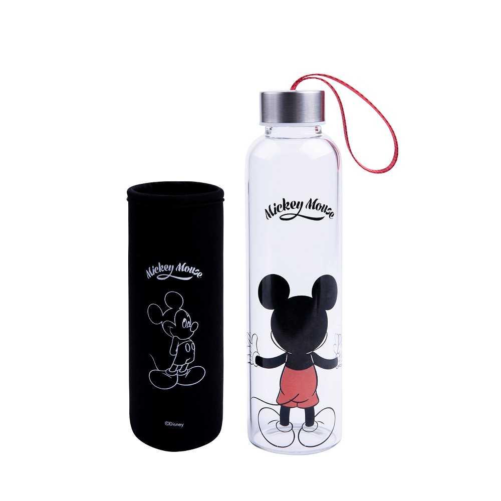 經典米奇系列 玻璃水瓶 抱抱款