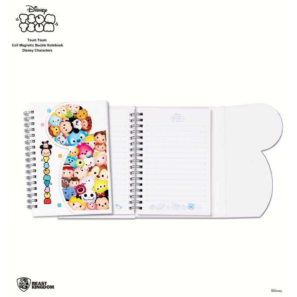 Tsum Tsum 線圈磁扣筆記本  迪士尼組圖款