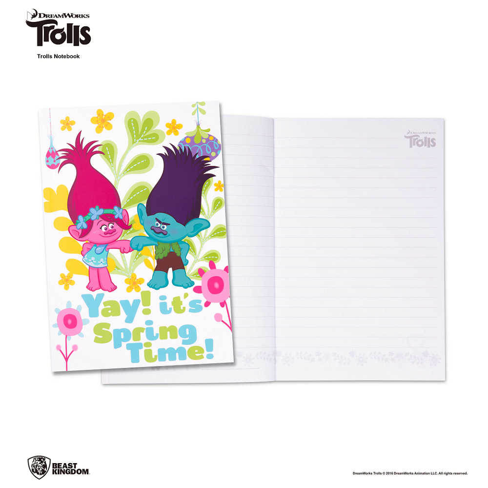 Trolls 魔髮精靈筆記本-001-春季款