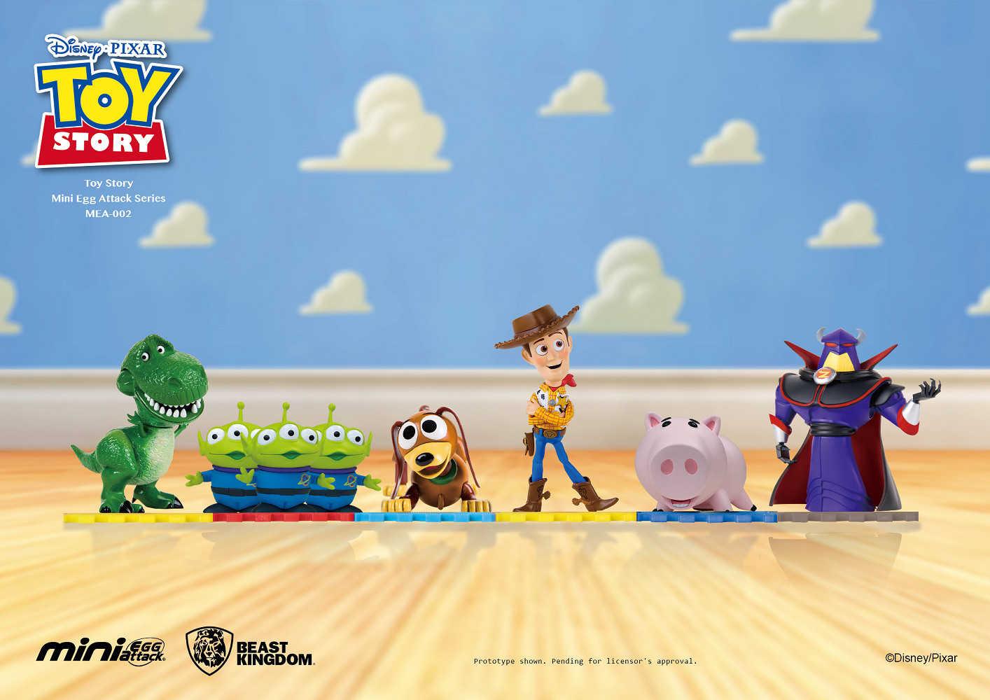 MEA-002 迪士尼 玩具總動員系列公仔-札克