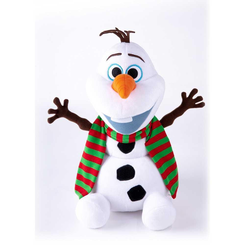 30cm坐姿開嘴雪寶戴圍巾