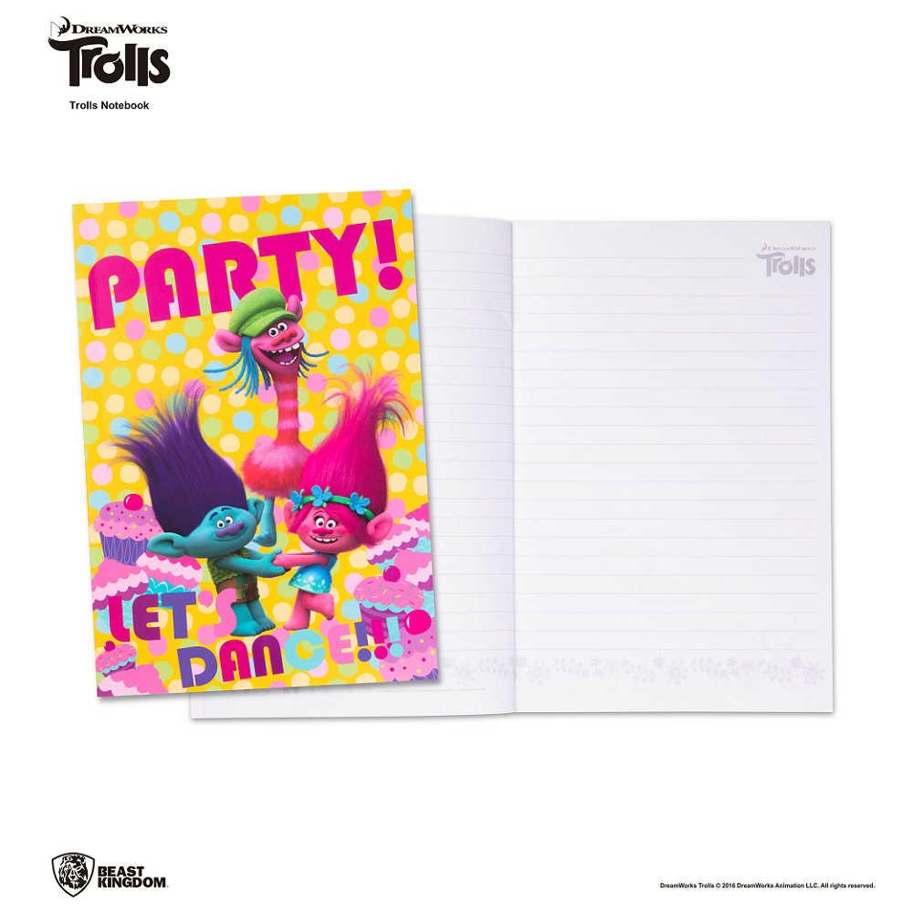 Trolls 魔髮精靈筆記本-002-派對款