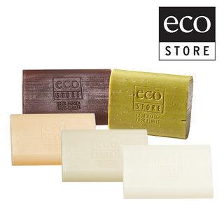 【ecostore】純淨香皂五件組(香草/檸檬草/純羊乳/甜椰子/麥蘆卡蜂蜜海藻)