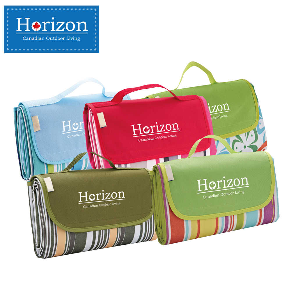 【Horizon 天際線】防潮沙灘野餐墊 - 附防水收納袋 ( 多款任選 )