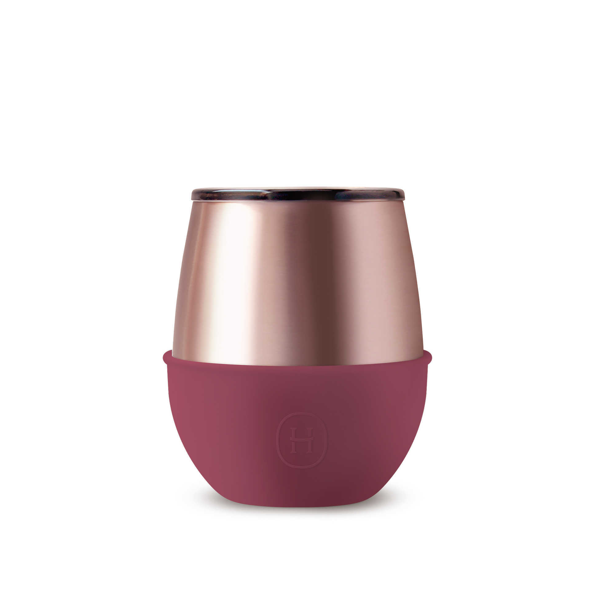 【HYDY】乾燥玫瑰/桑格莉亞-蜜粉金 蛋型杯 240ml
