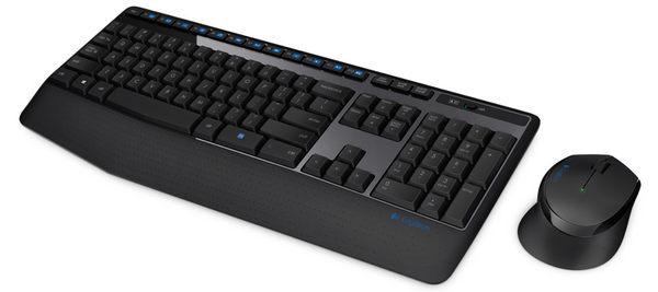 [富廉網] 羅技 Logitech MK345 無線鍵盤滑鼠組