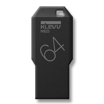 [富廉網] 限量下殺【KLEVV】科賦 64GB 黑曜版 USB3.0 隨身碟