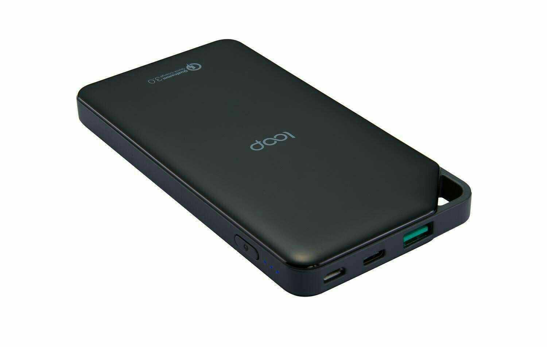 [富廉網]【Loop】BP-07 Type-C充放電雙向搭載行動電源10000mAh