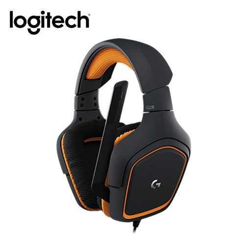 TGS [富廉網]【Logitech】羅技 G231 Prodigy 電競耳機麥克風