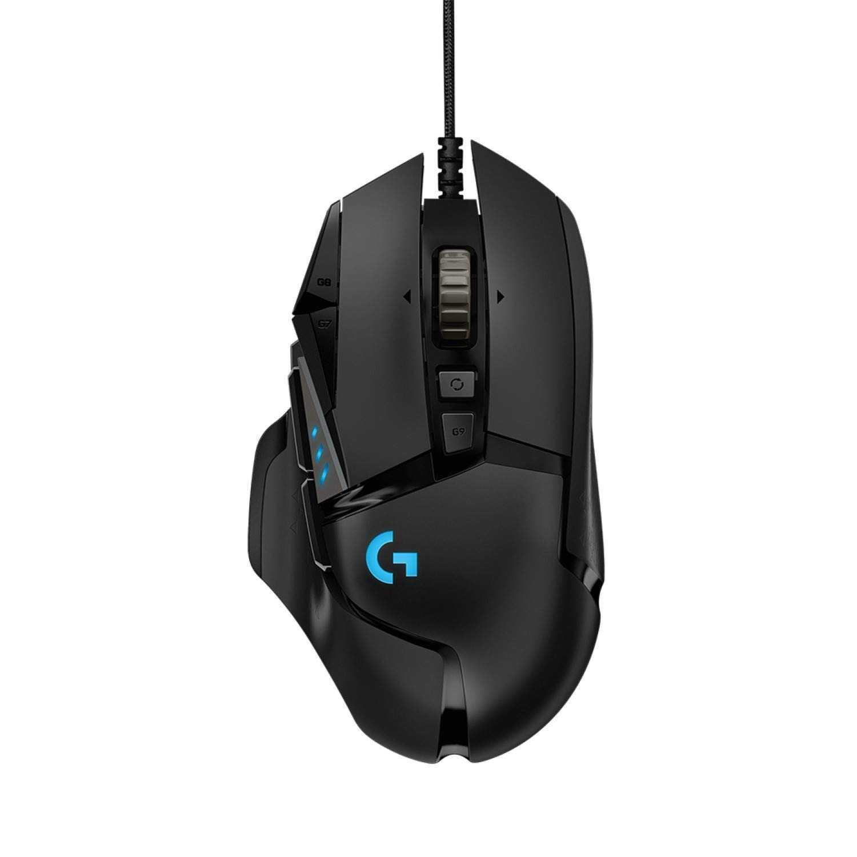 [富廉網] 限時促銷【Logitech】羅技 G502 Hero 高效能電競滑鼠