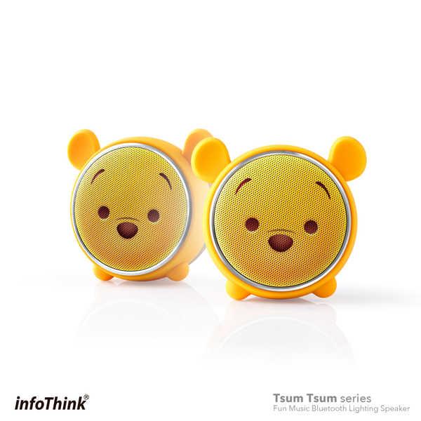 infoThink|TSUM TSUM 玩音樂藍牙燈光喇叭-小熊維尼 Pooh