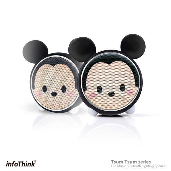 infoThink|TSUM TSUM 玩音樂藍牙燈光喇叭-米奇 Mickey
