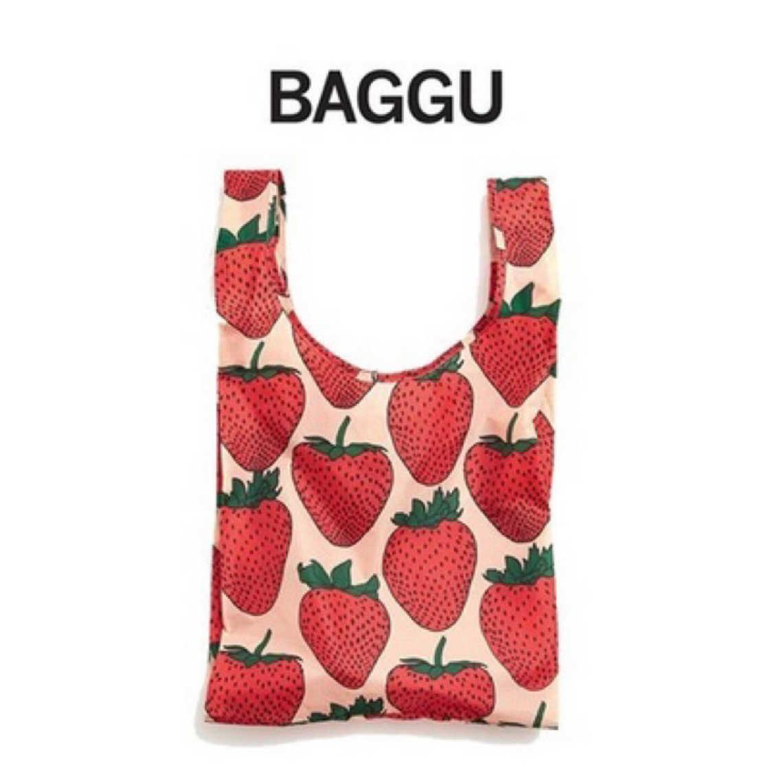 美國Baggu草莓購物袋M號 (含運)