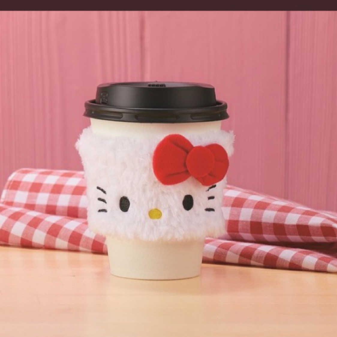 《現貨》日本 Lawson X Hello Kitty 凱蒂貓 隔熱套 含運