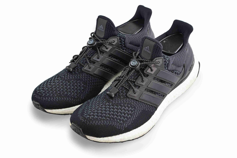 運動必備 | 壓釦免綁鞋帶 - 反光黑